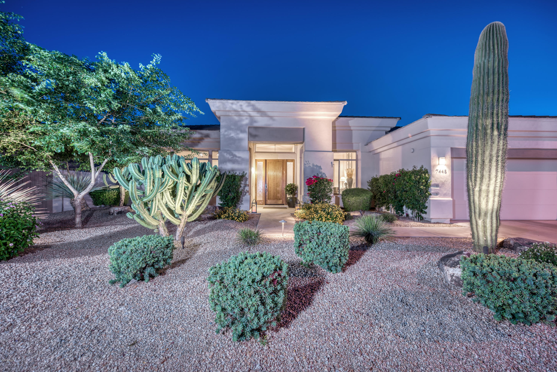 Photo of 7445 E WING SHADOW Road, Scottsdale, AZ 85255