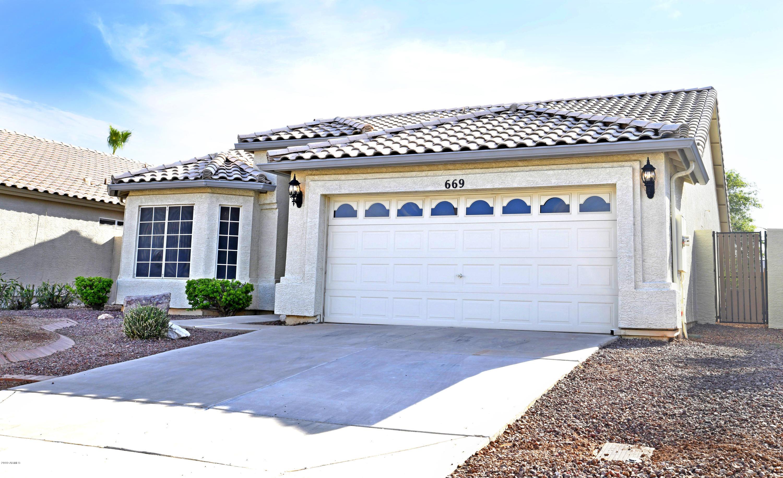 Photo of 669 N EL DORADO Drive, Gilbert, AZ 85233