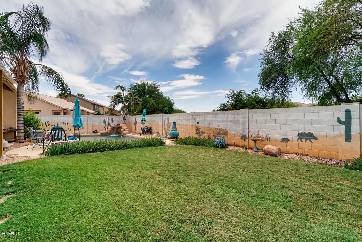 MLS 5953751 2096 S PORTER Street, Gilbert, AZ Gilbert AZ Lindsay Estates