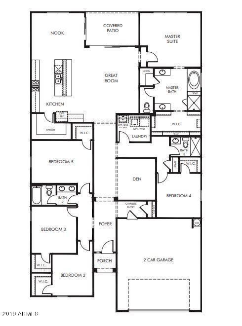 MLS 5952665 8728 N 186TH Lane, Waddell, AZ 85355 Waddell AZ Newly Built