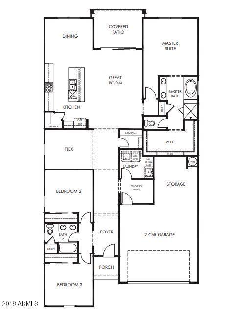 MLS 5952670 8740 N 186TH Lane, Waddell, AZ 85355 Waddell AZ Three Bedroom