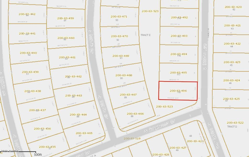 MLS 5952966 15806 N 109TH Avenue, Sun City, AZ 85351 Sun City AZ Two Bedroom