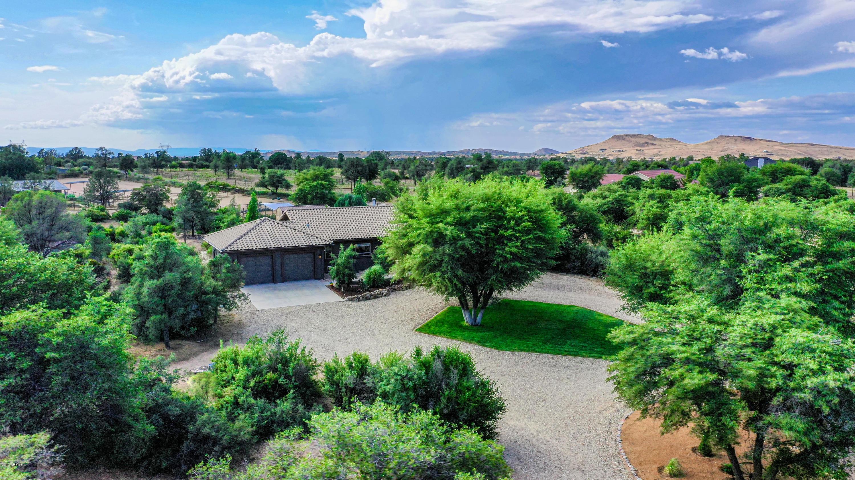MLS 5957316 3097 W Quail Hill Lane, Prescott, AZ Prescott AZ Equestrian