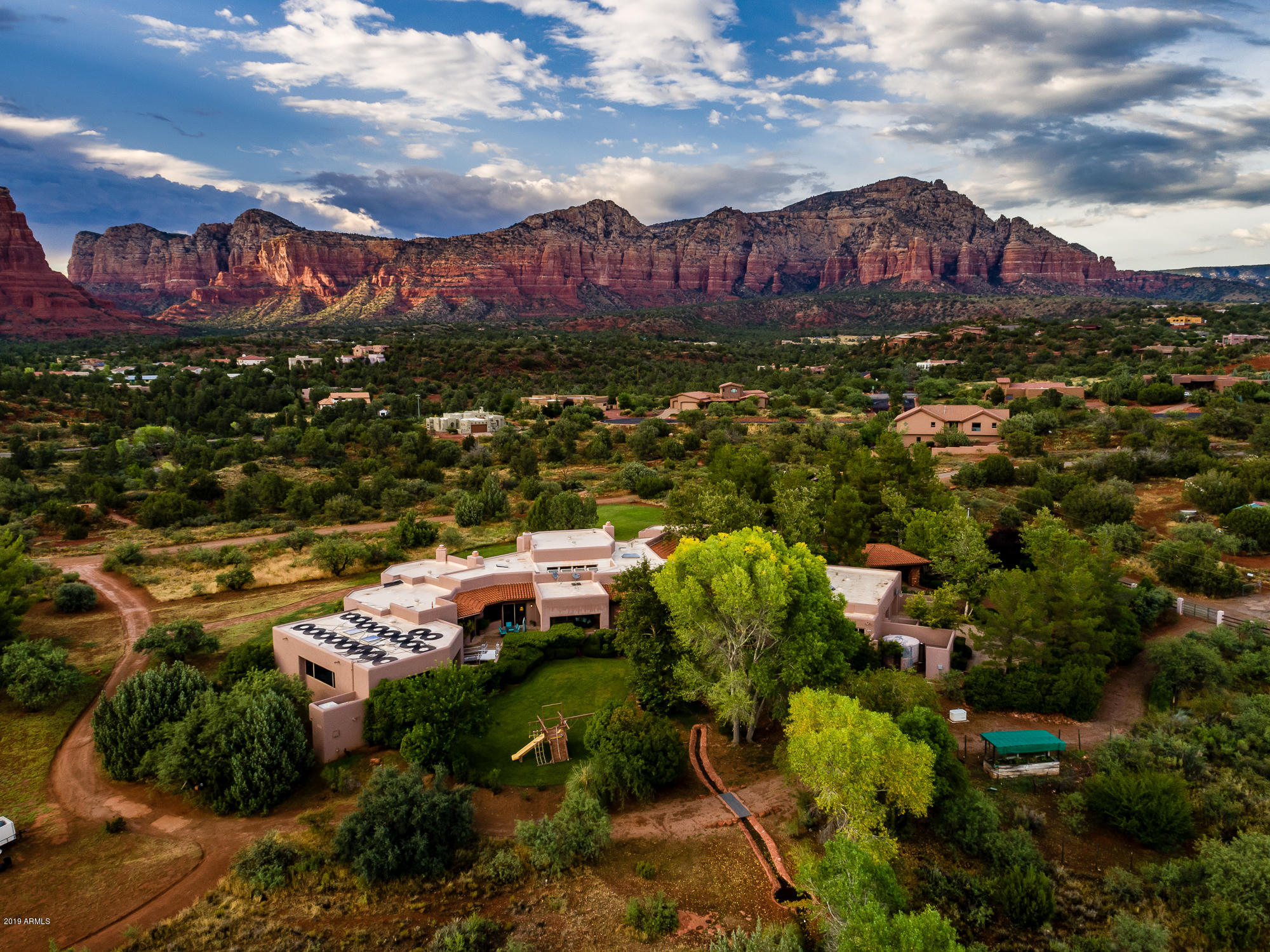 Revel and Restore in Casa de Coble in the Heart of Sedona With Your Team