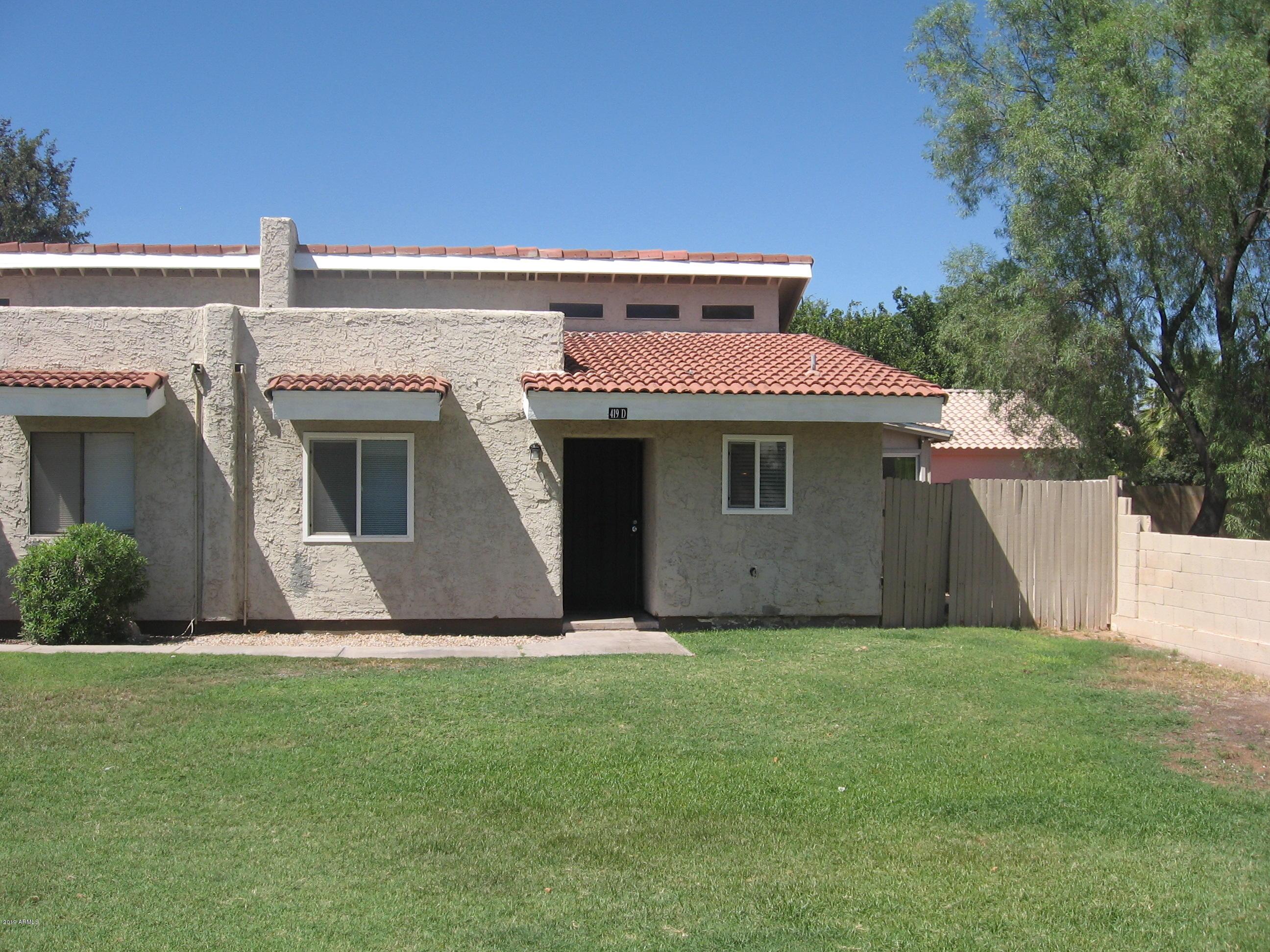 Photo of 419 E BRUCE Avenue #D, Gilbert, AZ 85234