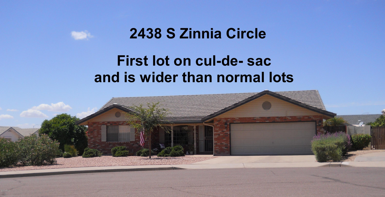 Photo of 2438 S ZINNIA Circle, Mesa, AZ 85209