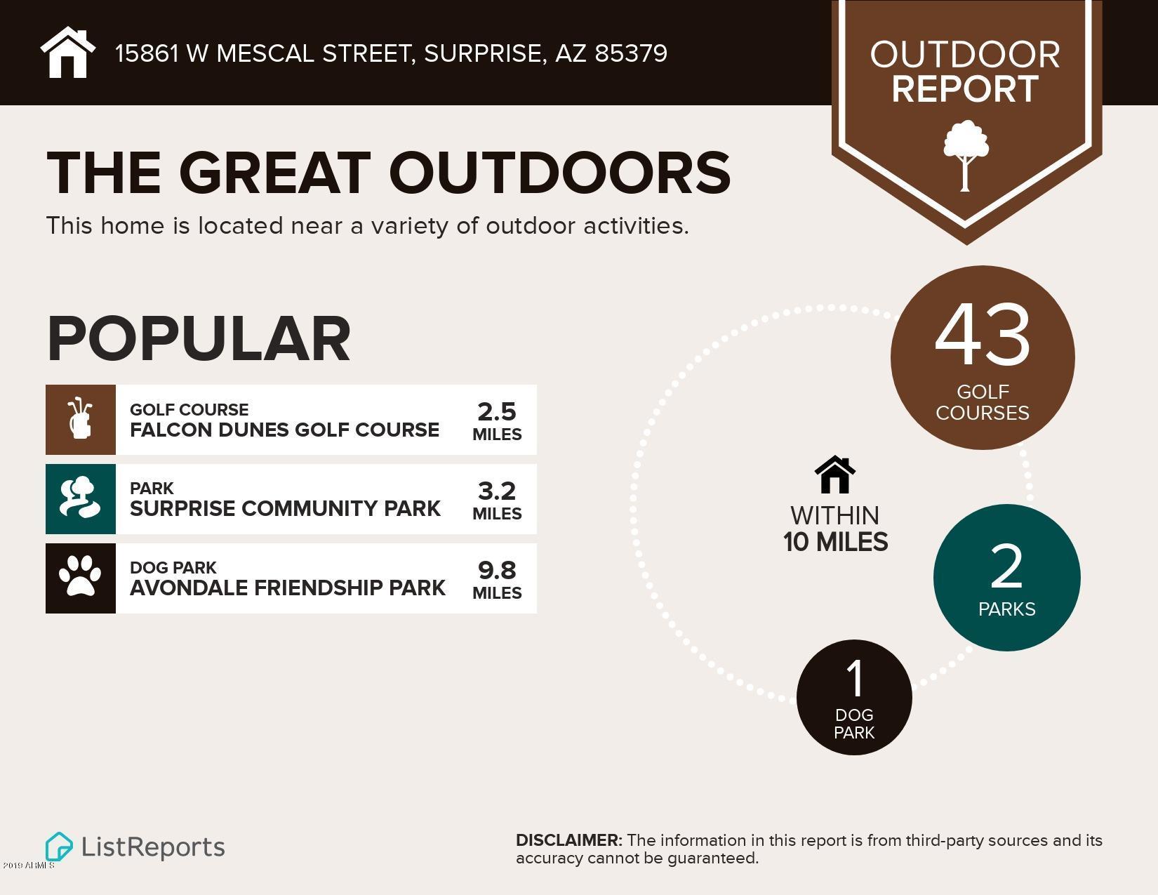MLS 5942064 15861 W MESCAL Street, Surprise, AZ 85379 Surprise AZ Greer Ranch