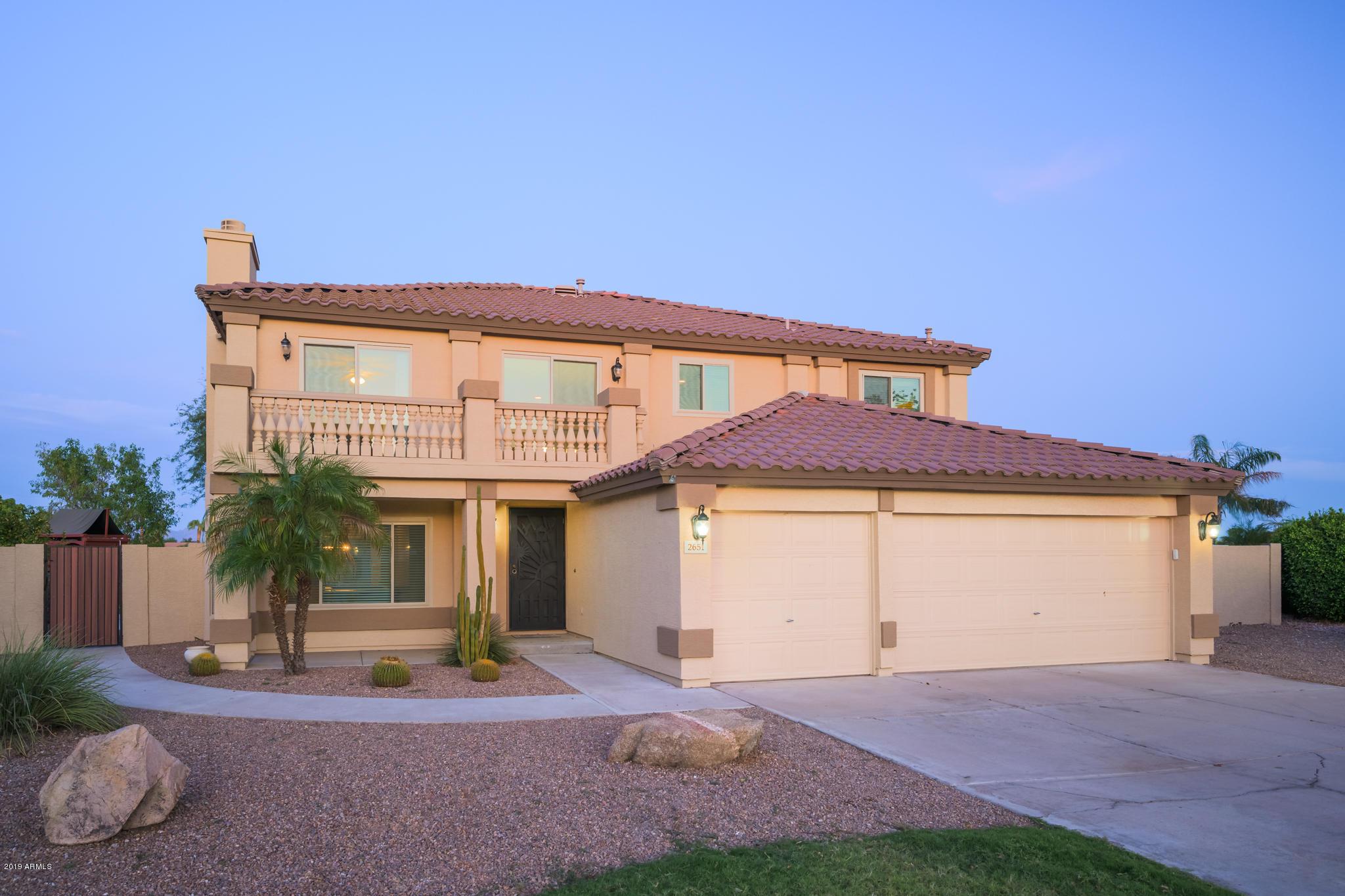 Photo of 2651 E CATCLAW Street, Gilbert, AZ 85296