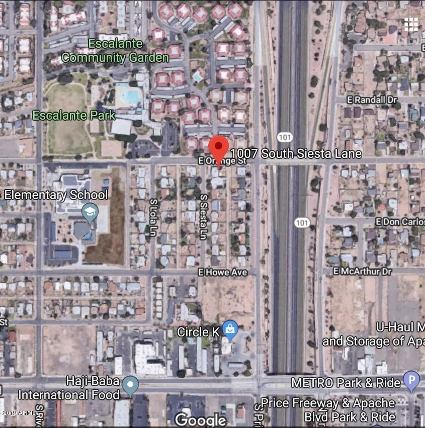 MLS 5985387 1007 S SIESTA Lane, Tempe, AZ 85281 Tempe AZ Private Pool