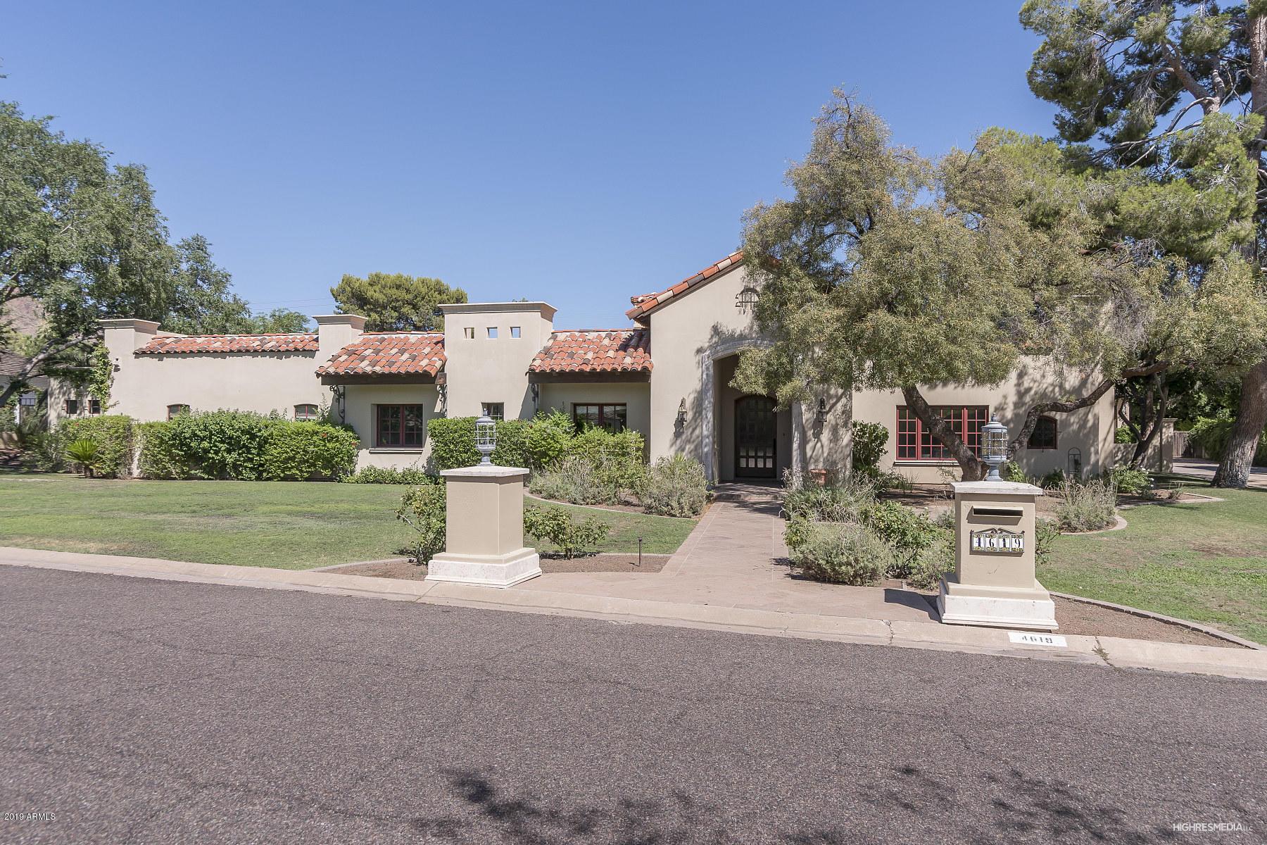 MLS 6000448 4619 N DROMEDARY Road, Phoenix, AZ 85018 Phoenix Homes for Rent