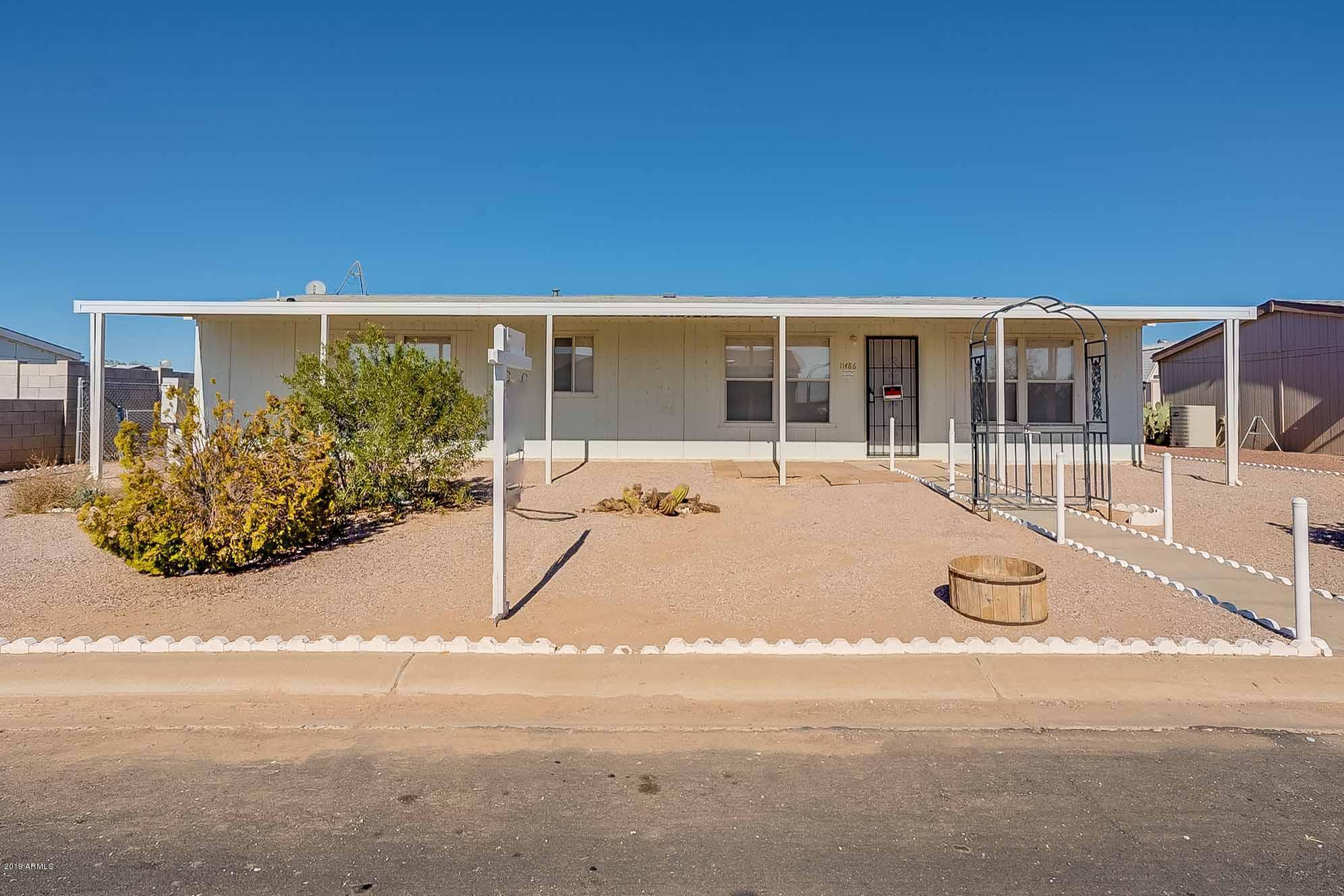 Photo of 11486 W STAGECOACH Road, Arizona City, AZ 85123