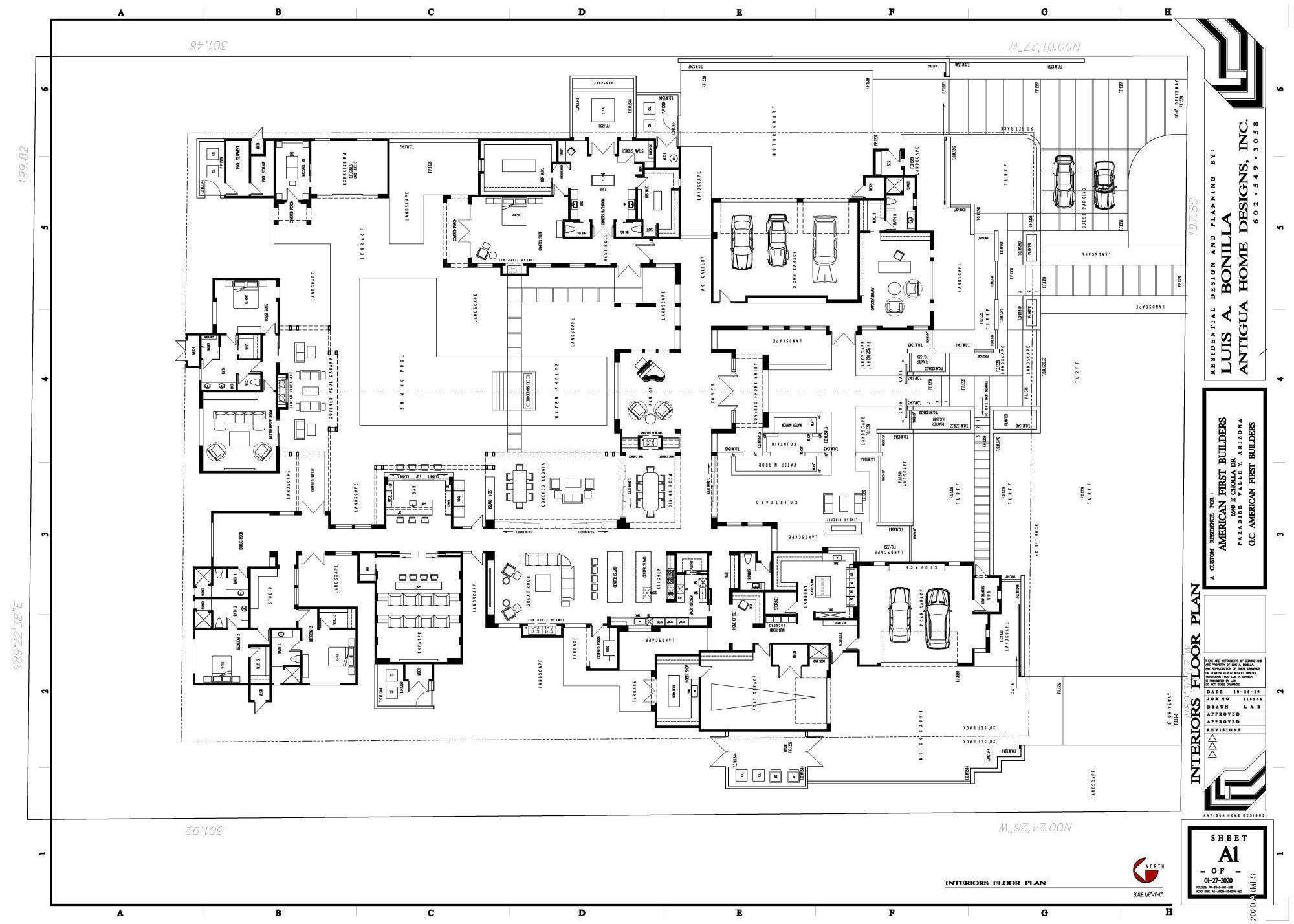 MLS 6036163 6540 E CHOLLA Drive, Paradise Valley, AZ 85253 Paradise Valley AZ 5 or More Bedroom