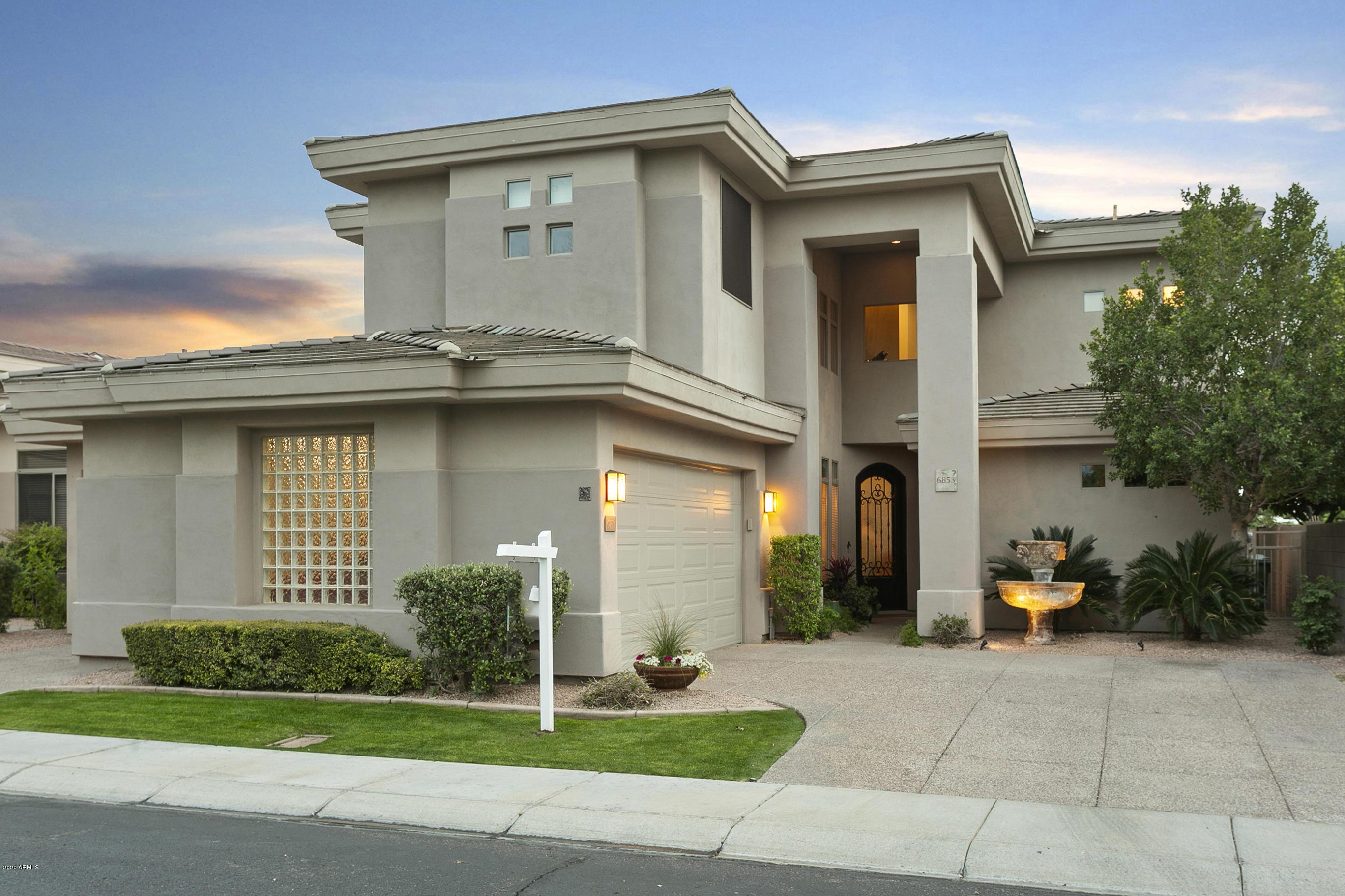 Photo of 6853 E MONTREAL Place, Scottsdale, AZ 85254