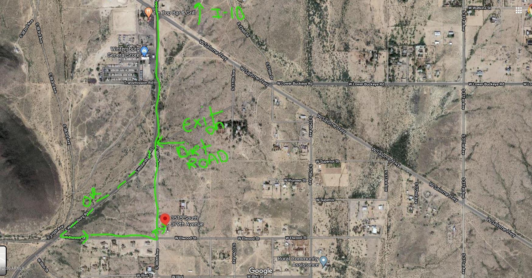 MLS 6074875 3515 S 379TH Avenue, Tonopah, AZ 85354 Tonopah AZ Mountain View