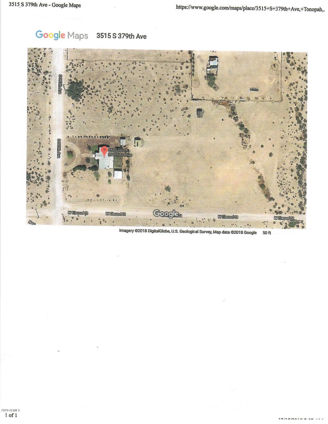 MLS 6074875 3515 S 379TH Avenue, Tonopah, AZ 85354 Tonopah AZ Three Bedroom
