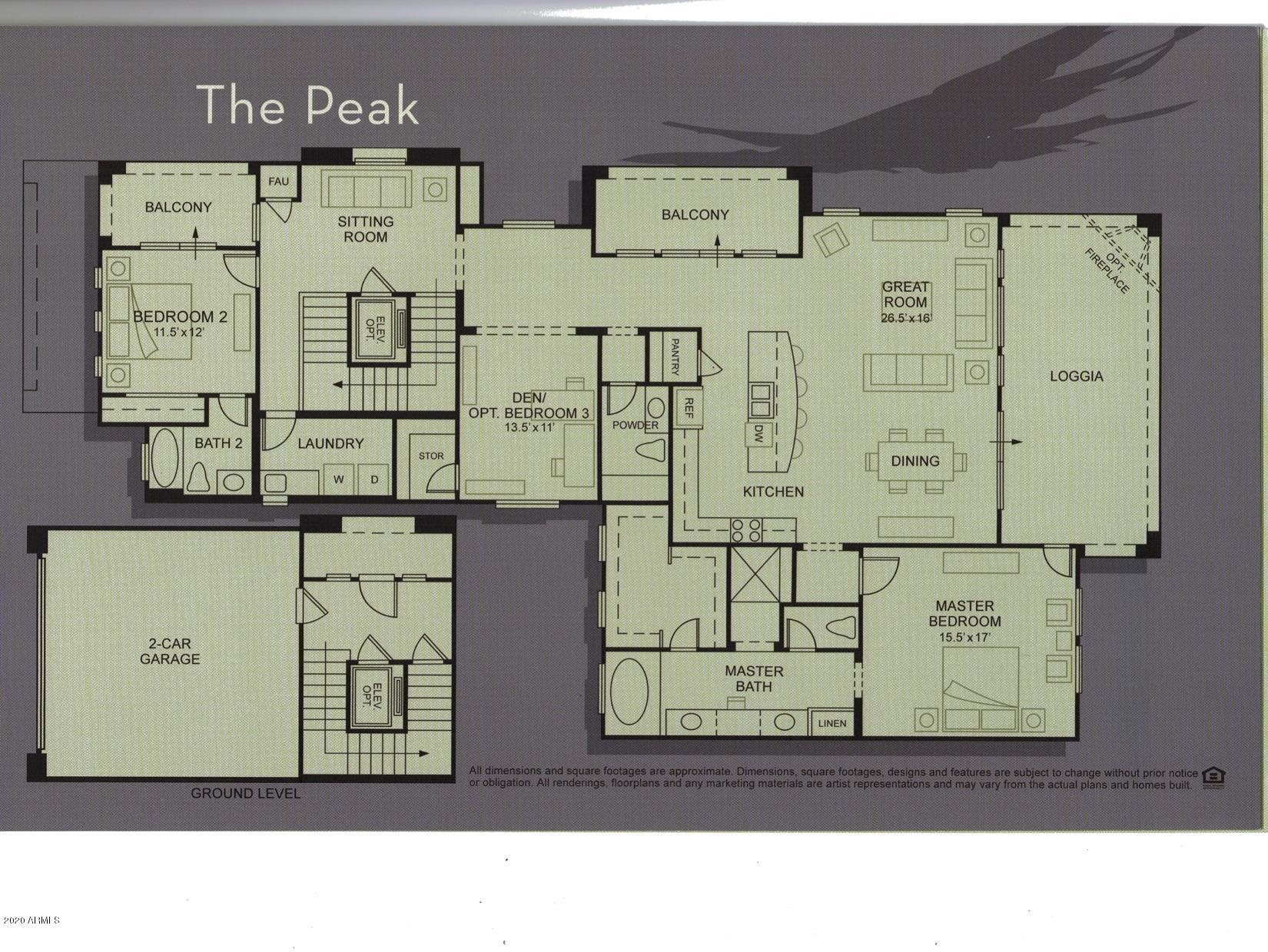MLS 6031888 27000 N ALMA SCHOOL Parkway Unit 2031, Scottsdale, AZ 85262 Scottsdale AZ Luxury