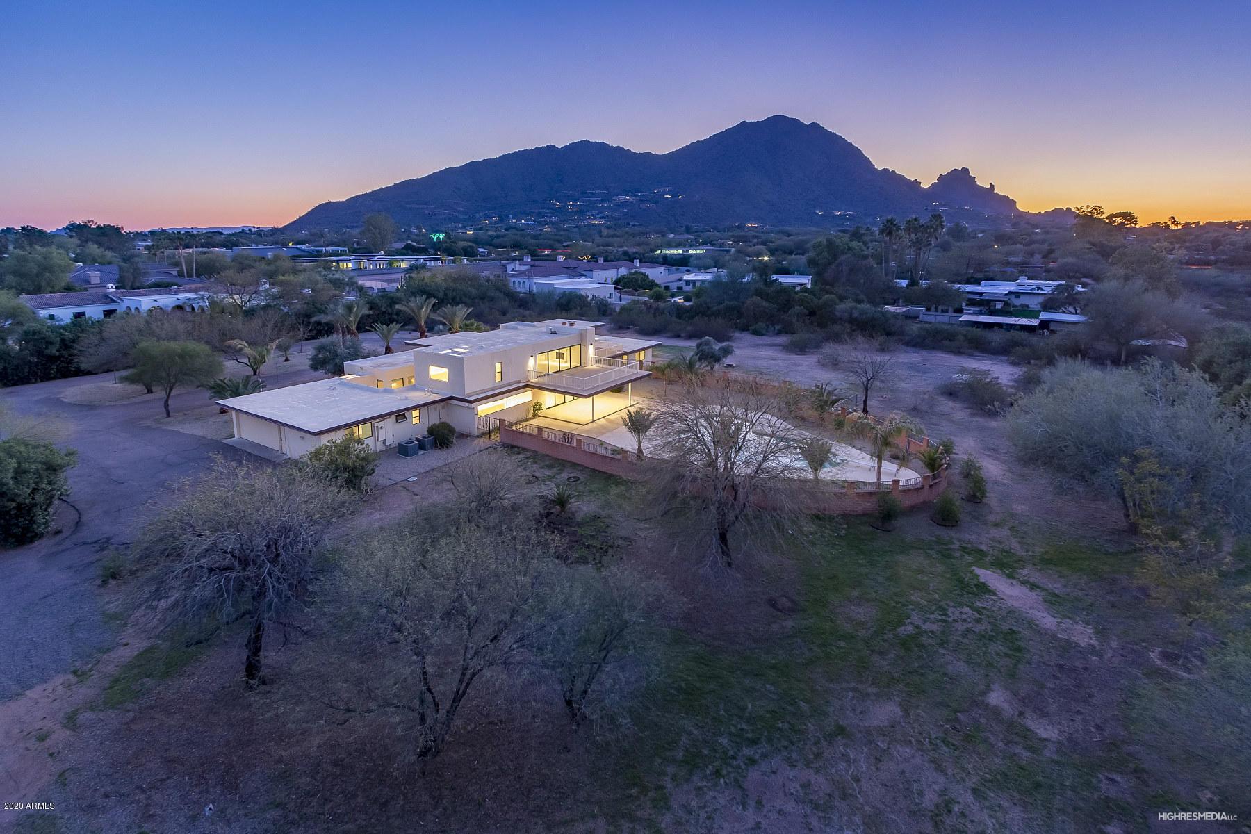 Photo of 5738 N CASA BLANCA Drive, Paradise Valley, AZ 85253
