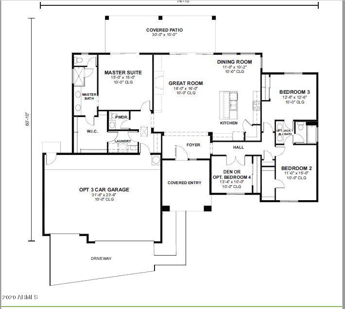 MLS 6102297 15525 E Barwick Drive, Scottsdale, AZ 85262 Scottsdale AZ Spec Home