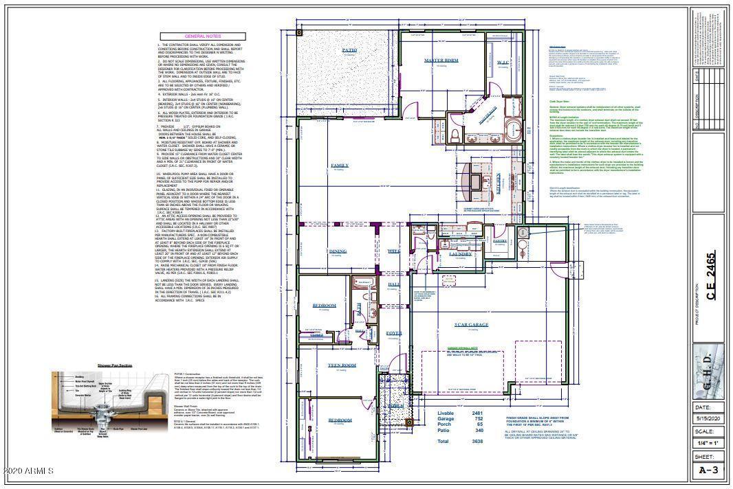 MLS 6113464 1585 N HIMOSA Drive, Casa Grande, AZ 85122 Casa Grande AZ Newly Built