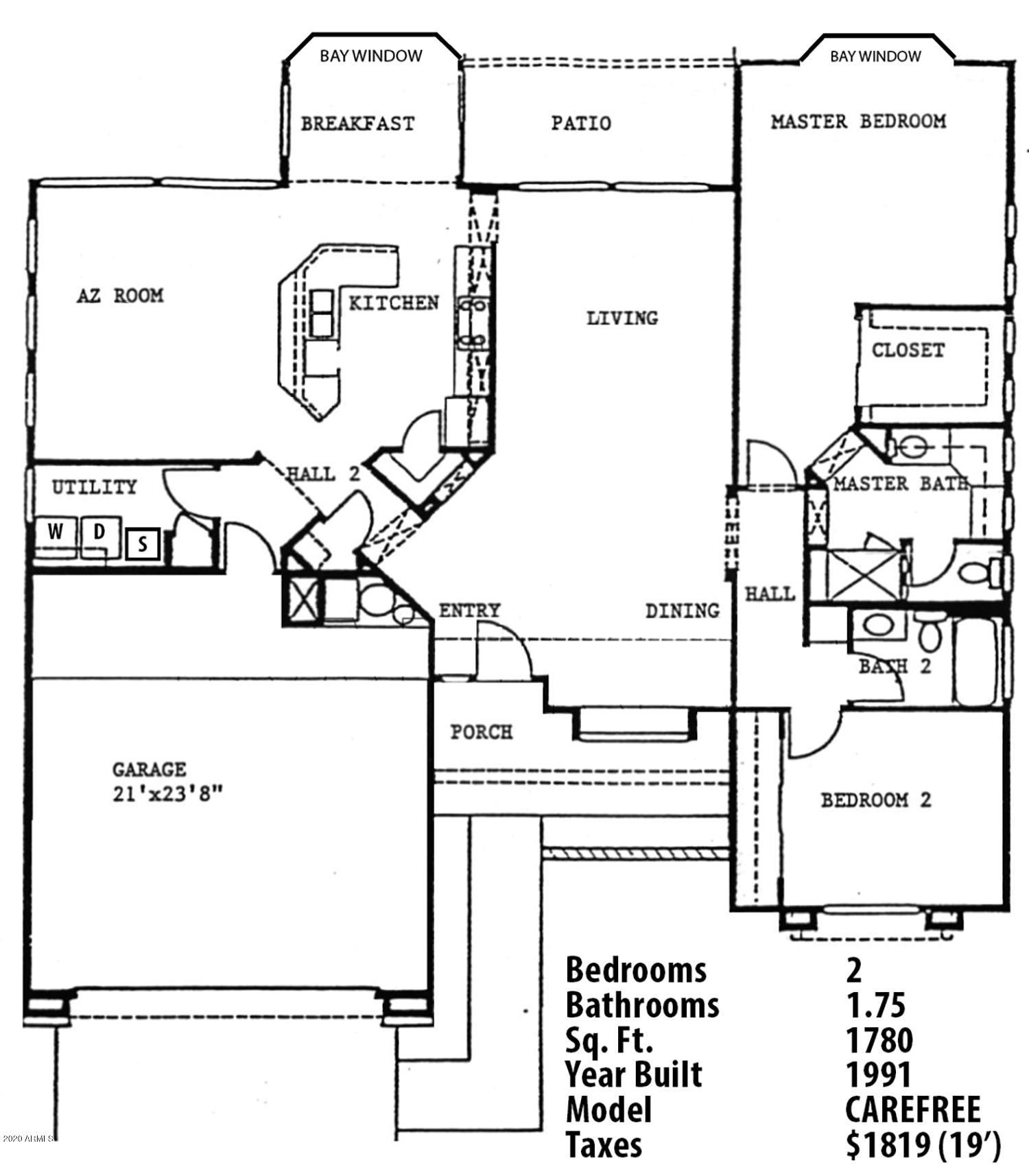 MLS 6132513 14202 W SKY HAWK Drive, Sun City West, AZ 85375 Sun City West AZ Two Bedroom