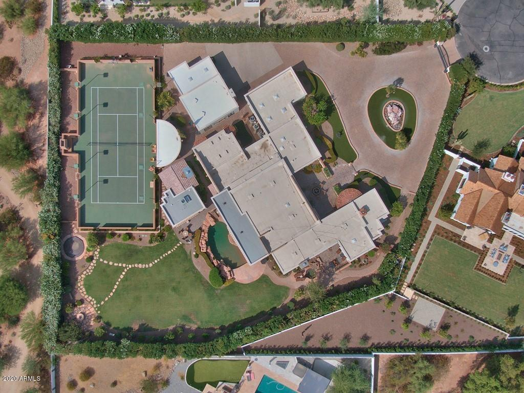 MLS 6130090 5909 E SOLCITO Lane, Paradise Valley, AZ 85253 Paradise Valley AZ Tennis Court