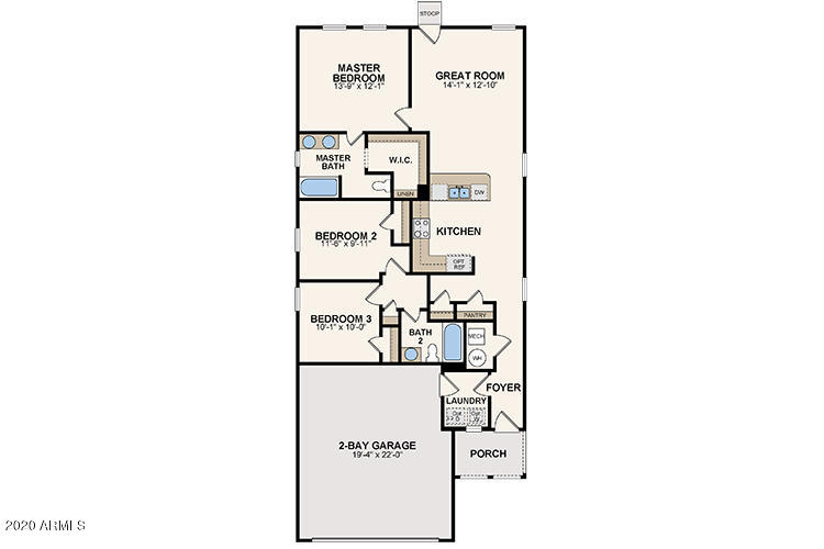 MLS 6136895 1182 S 11TH Street, Coolidge, AZ 85128 Coolidge AZ Three Bedroom