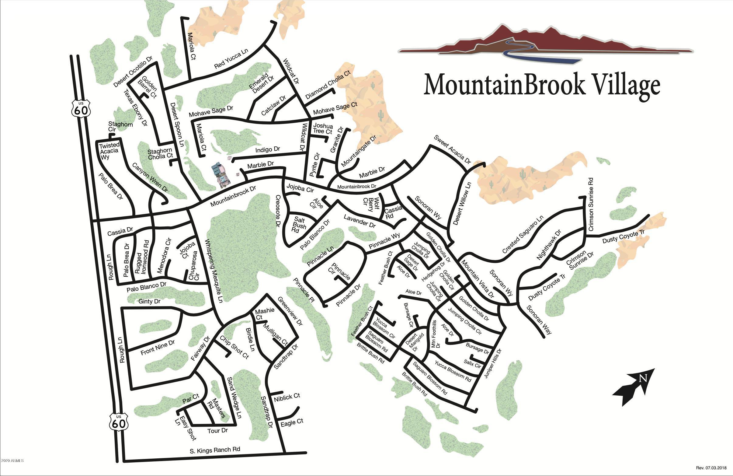 MLS 6134838 8911 E YUCCA BLOSSOM Drive, Gold Canyon, AZ 85118 Gold Canyon AZ Mountainbrook Village