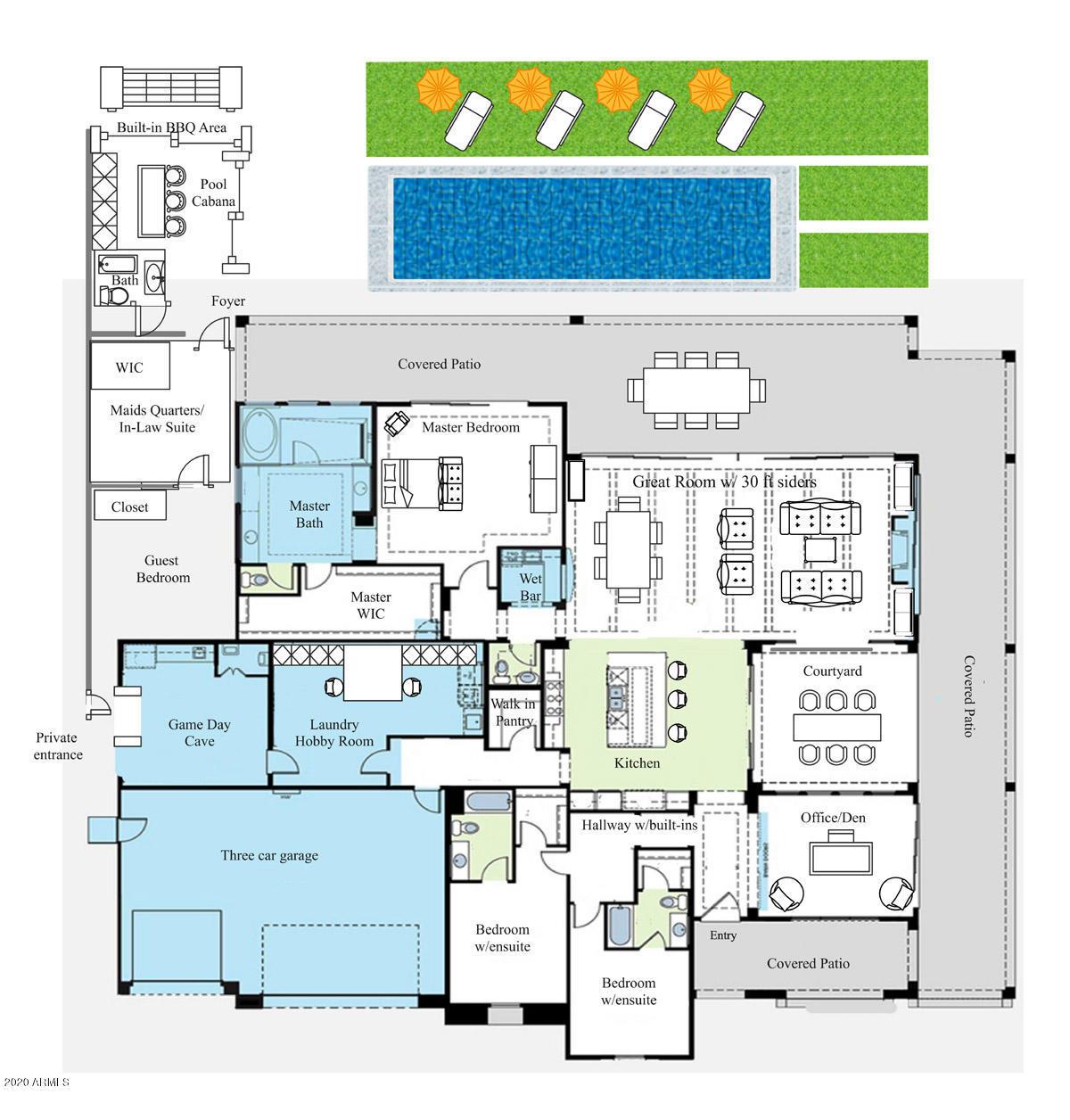 MLS 6140001 17348 E HIDDEN GREEN Court, Rio Verde, AZ 85263 Rio Verde AZ Scenic