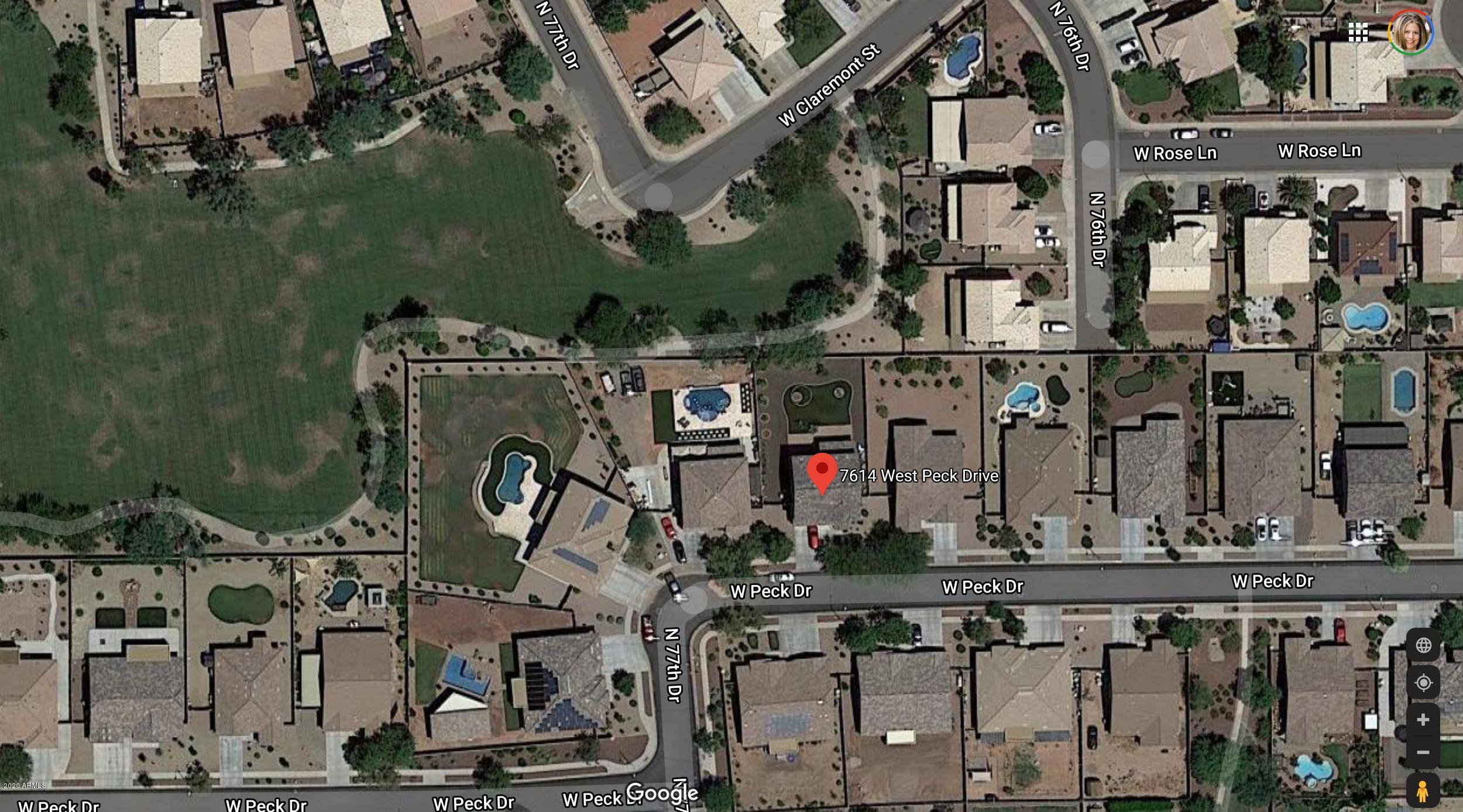 MLS 6153502 7614 W PECK Drive, Glendale, AZ 85303 Glendale AZ Gated