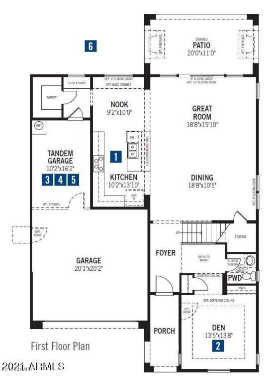 MLS 6241047 220 E Wisteria Drive, Chandler, AZ 85286 Chandler AZ Newly Built