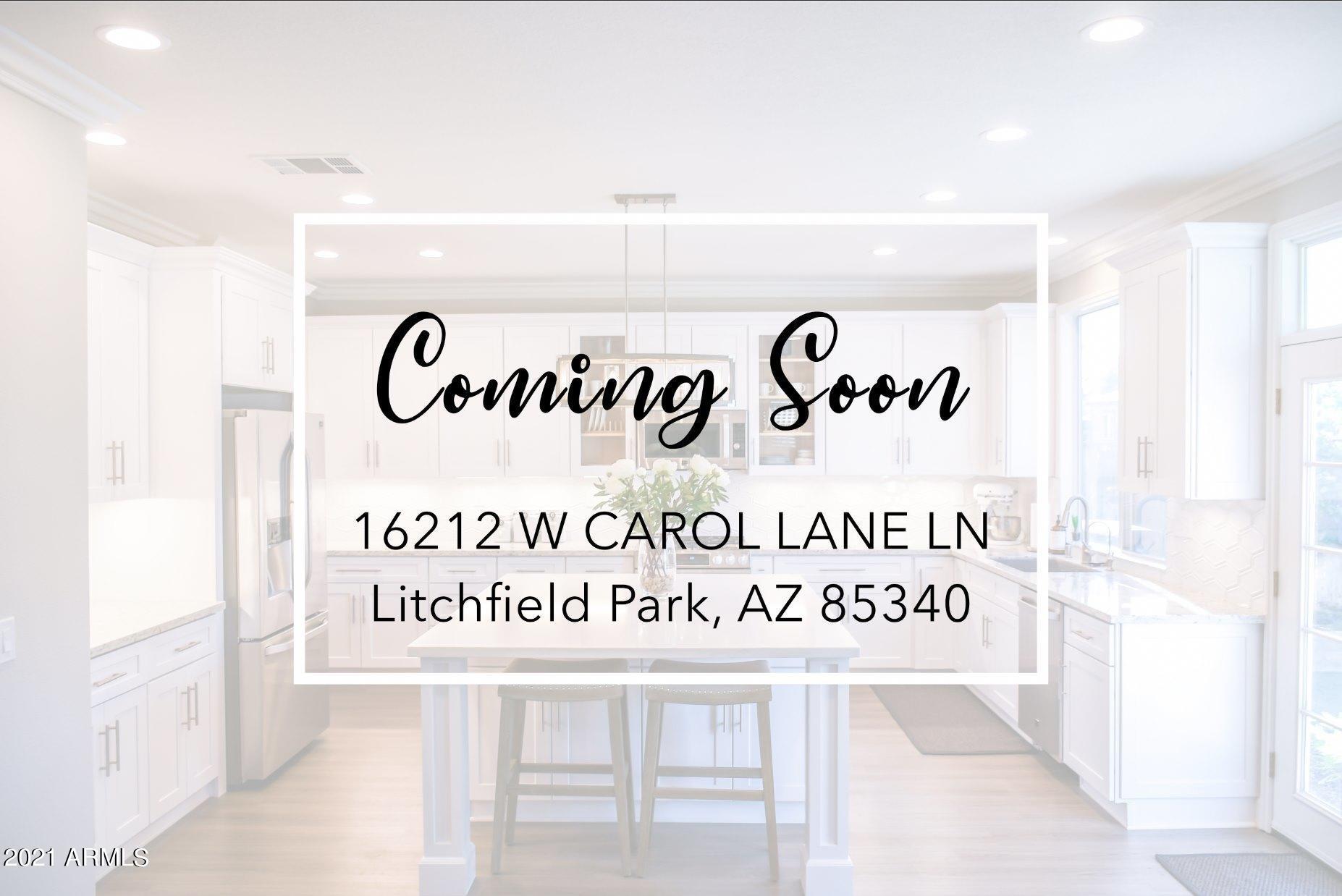 MLS 6258524 16212 W CAROLE Lane, Litchfield Park, AZ 85340 Litchfield Park AZ One Plus Acre Home