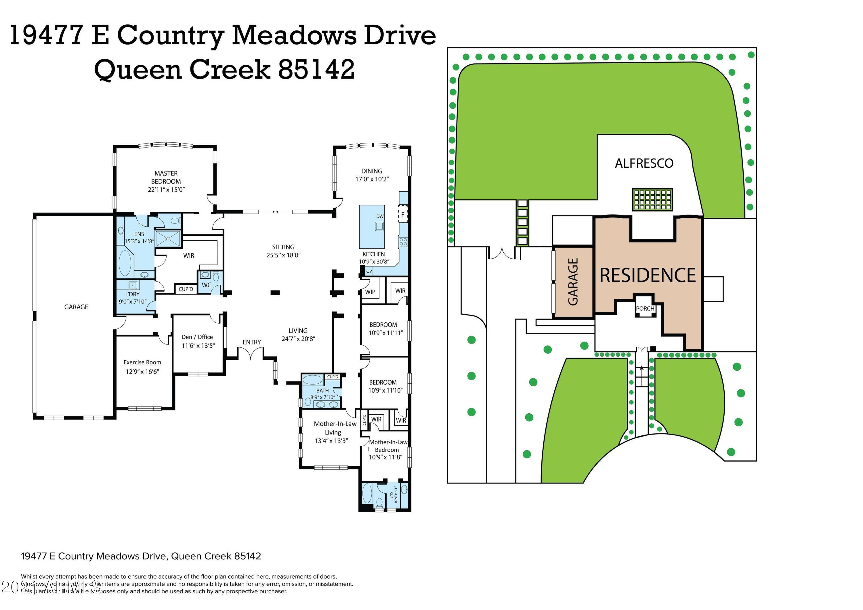 MLS 6261617 19477 E COUNTRY MEADOWS Drive, Queen Creek, AZ 85142 Queen Creek AZ Scenic