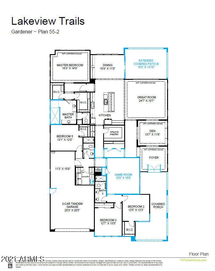 MLS 6268209 3621 E BLOOMFIELD Parkway, Gilbert, AZ 85296 Gilbert AZ Newly Built