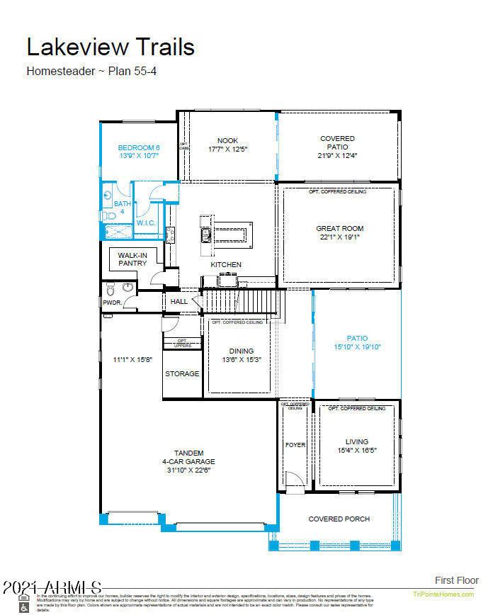 MLS 6268263 3633 E BLOOMFIELD Parkway, Gilbert, AZ 85296 Gilbert AZ Newly Built