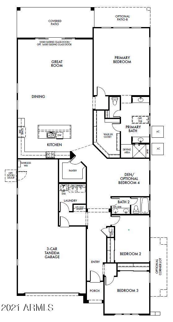 MLS 6271381 21125 W HILLCREST Boulevard, Buckeye, AZ 85396 Buckeye AZ Newly Built