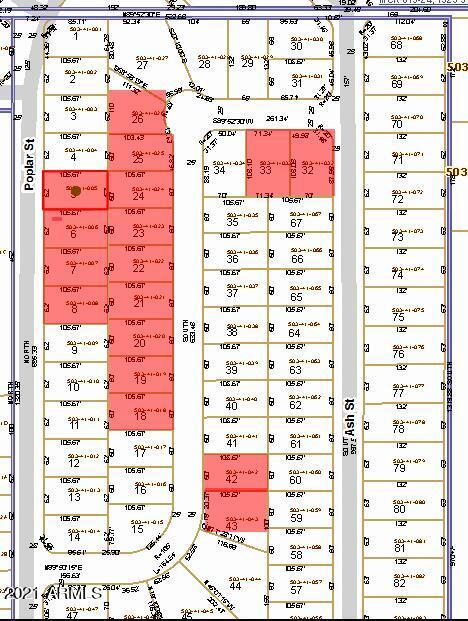 21550 Poplar & Laura Streets Street