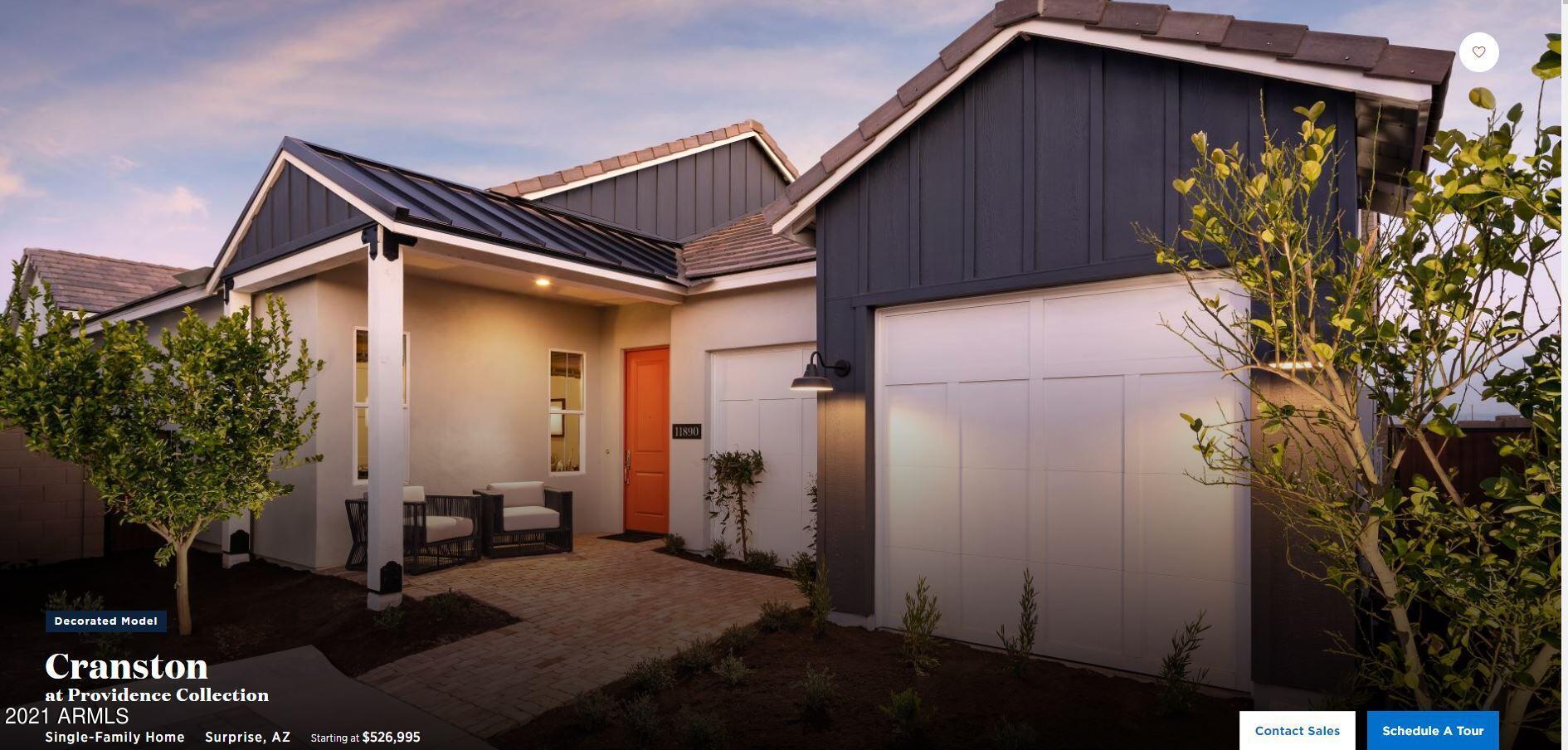 MLS 6307351 11890 N HERSHEY Street, Surprise, AZ Surprise AZ Luxury