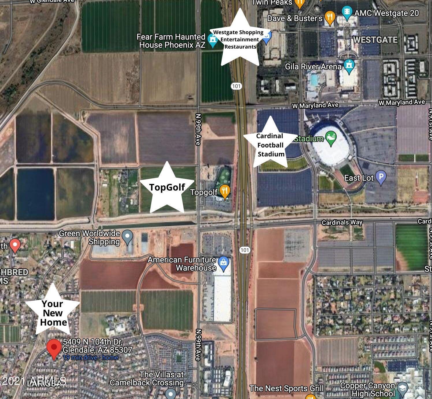 MLS 6309331 5409 N 104TH Drive, Glendale, AZ 85307 Glendale AZ West Glendale