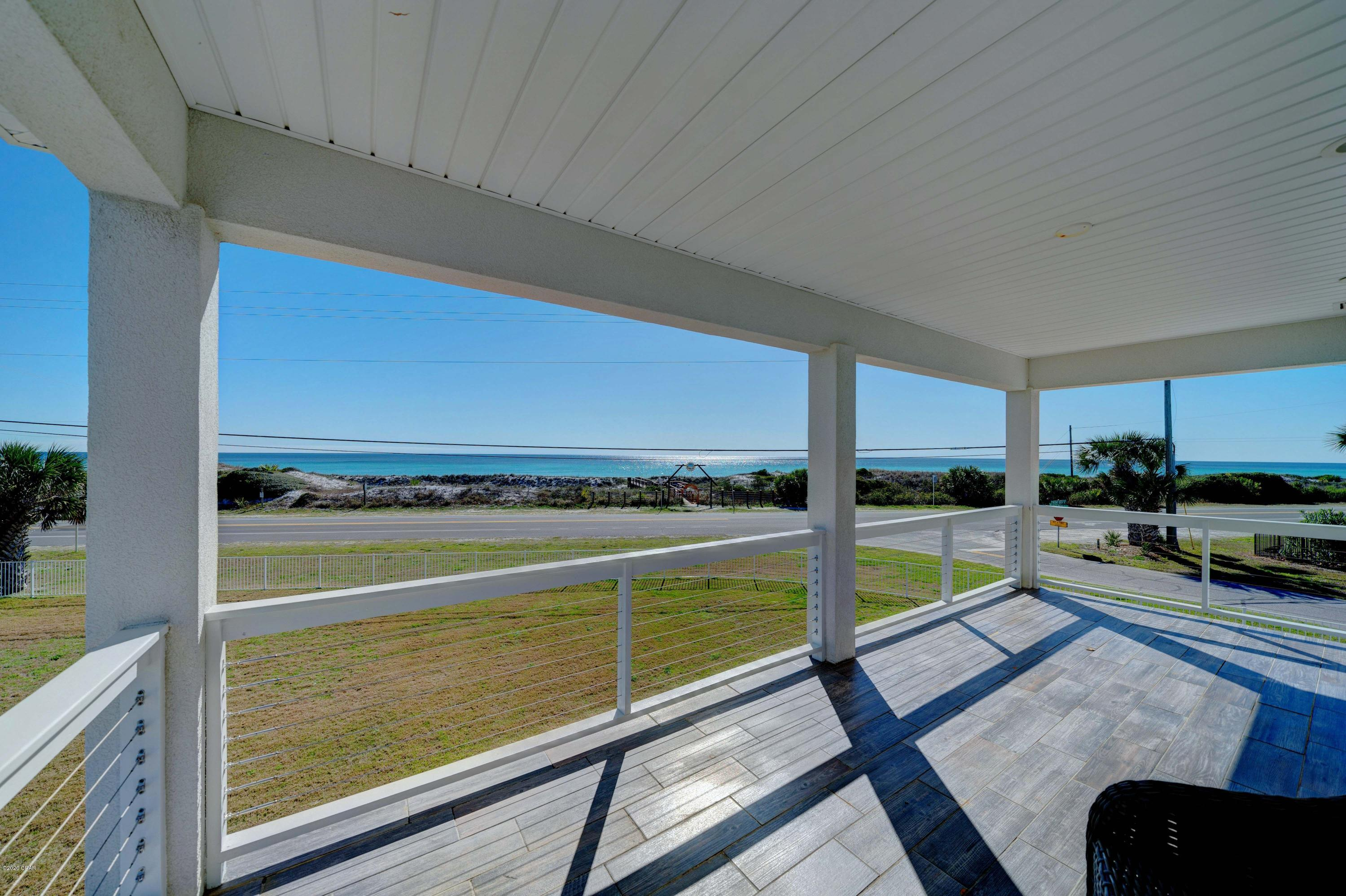 Sweeping views from the covered porches!