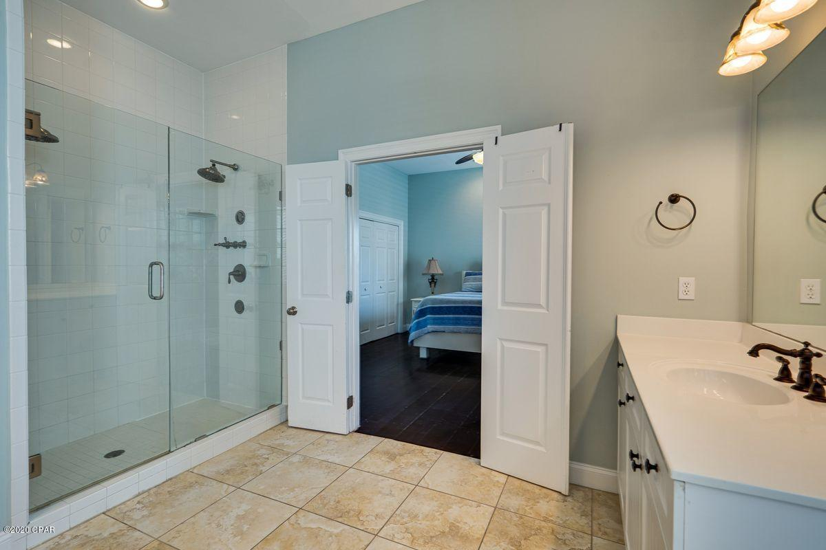 Dual-head shower in master bath