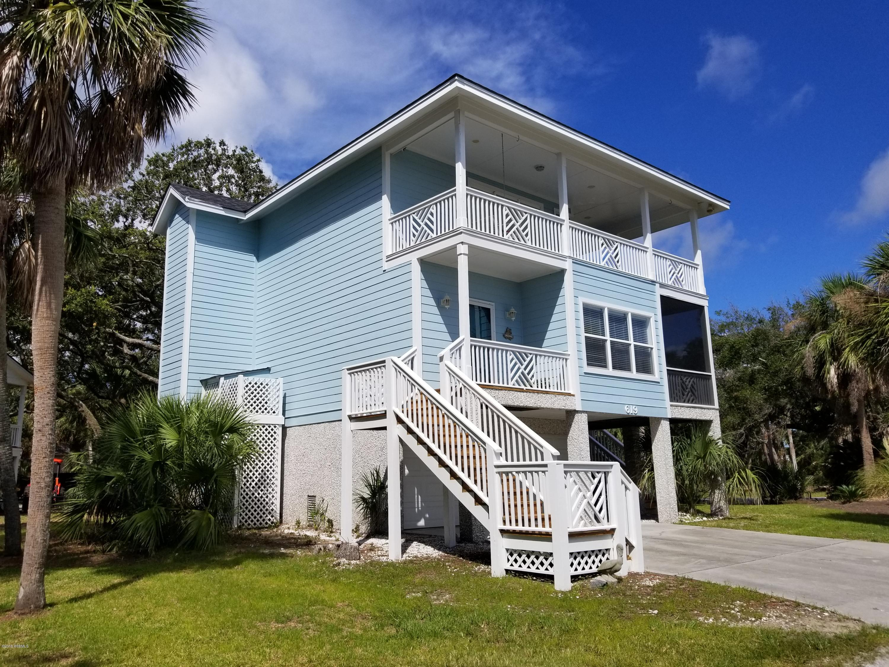 Photo of 619 Porpoise Drive, Fripp Island, SC 29920