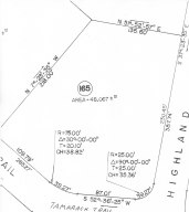 lot 165 Highland, Sandisfield, MA 01255