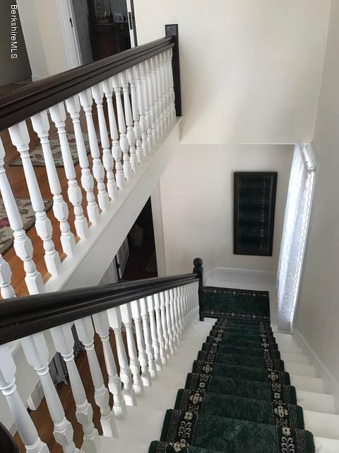 stairway and hall