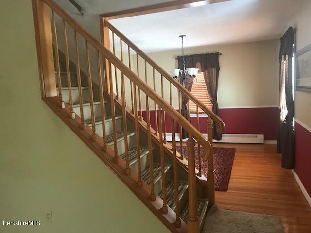 beautiful open stairway