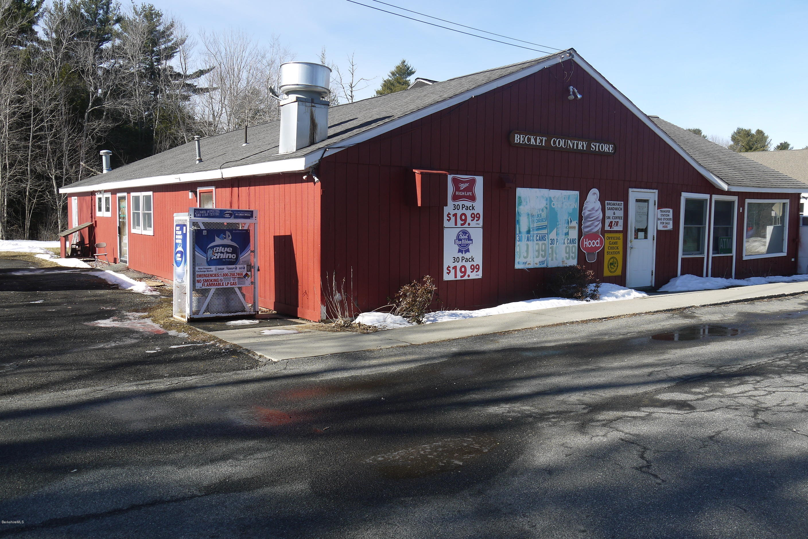Property located at 609 Main St Becket MA 01223 photo