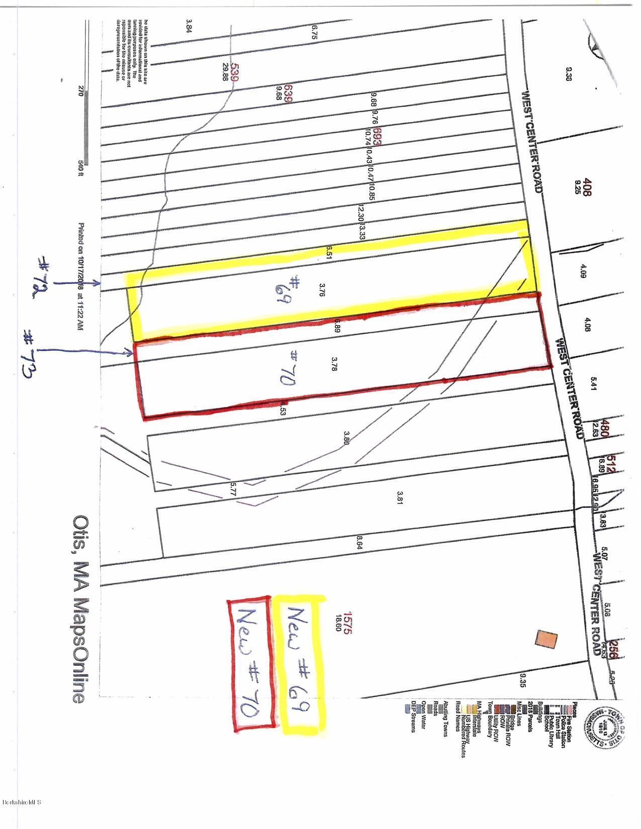 Lot # 70 West Center Rd Otis MA 01253