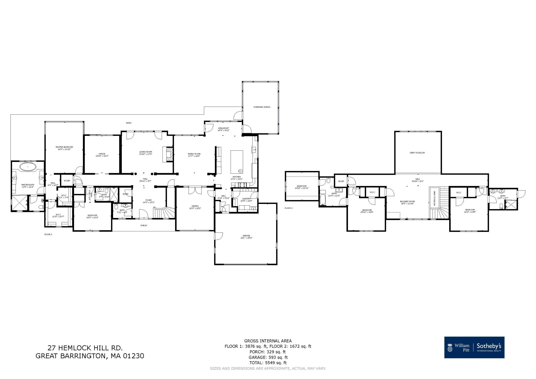 Property located at 27 Hemlock Hill Rd Great Barrington MA 01230 photo