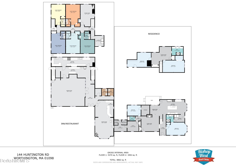 Property located at 144 Huntington Rd Worthington MA 01098 photo