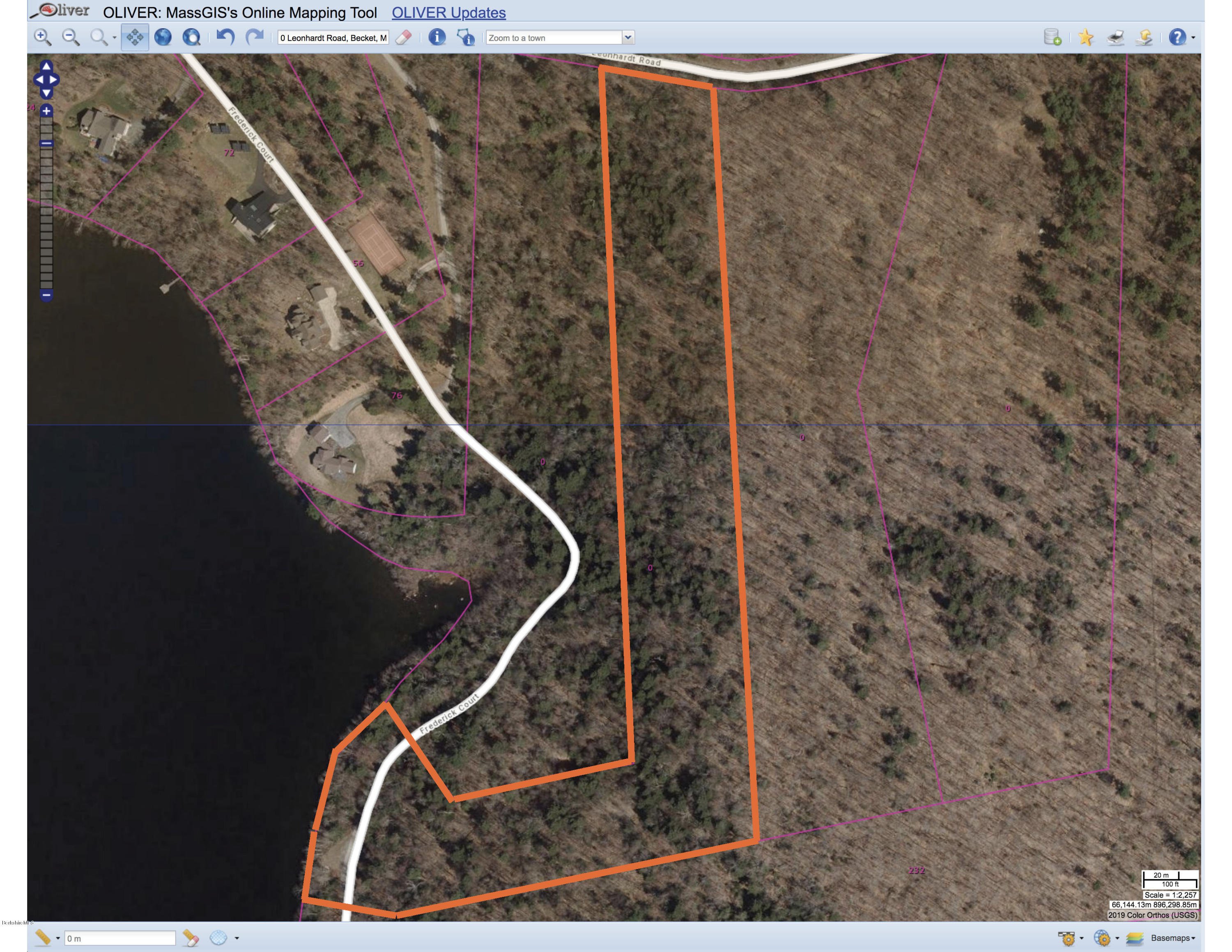 Property located at 00 Leonhardt Rd Becket MA 01223 photo