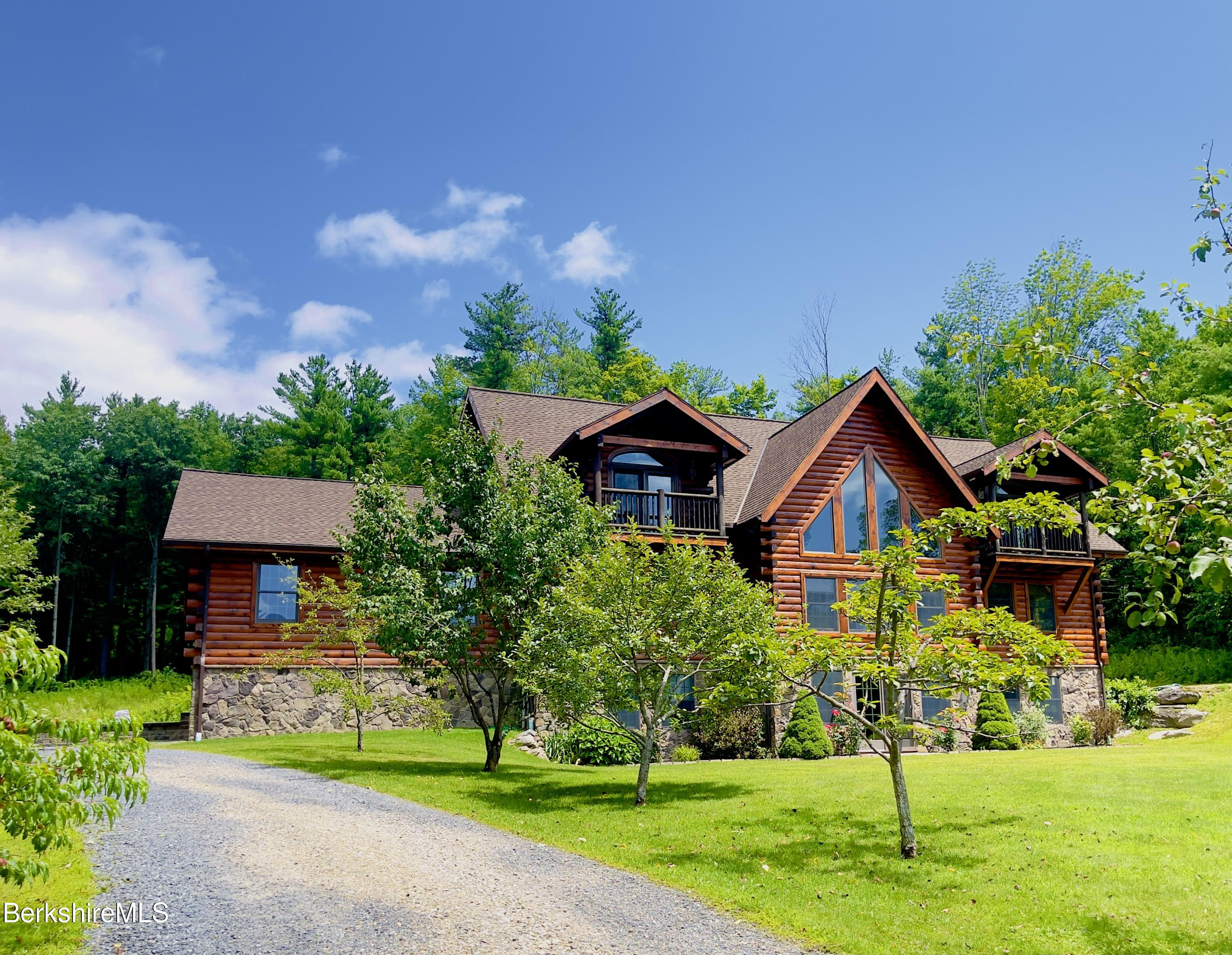 Property located at 33 Main Rd Tyringham MA 01264 photo